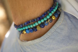Beaded Gemstone bracelets shamballa