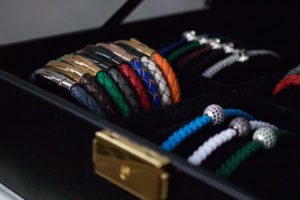 6mm Braided Leather Bracelets